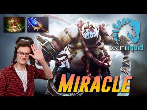 Miracle Pudge HOOK MASTER - Dota 2 Pro MMR Gameplay