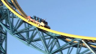 Superman Escape from Krypton (HD POV) - Six Flags Magic Mountain