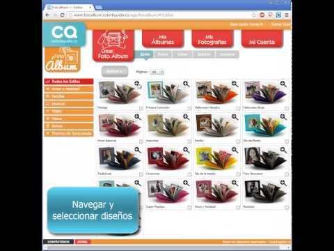 Tip Inspeccion Foto Álbumes - Color Líquido