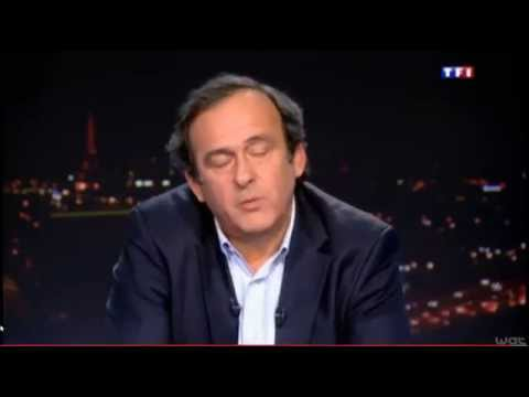 """Michel Platini on the Serbia-Albania 2014's football incident"""
