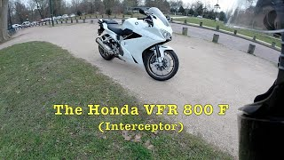 Test Riding the Honda VFR 800 F / Interceptor