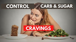 How To Stop Sugar & Carb Cravings On A Low Carb Diet Quickly & Naturally | Keto Diet