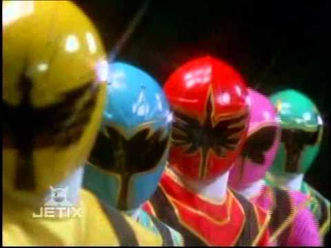 Power Rangers Mystic Force - Titan Megazord Finisher 3