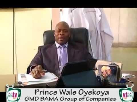 Prince Wale Oyekoya - GMD BAMA Group - Local Content Documentary - WinTV247