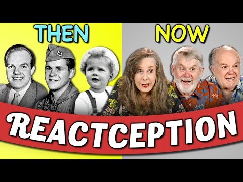 Elders React To Old Pictures Of Themselves