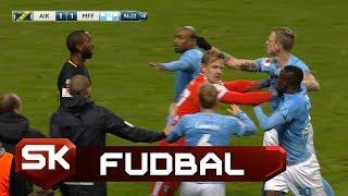 96. Minut, Gol iz Slobodnjaka i Potpuni Haos u Stokholmu   AIK - Malme   SPORT KLUB Fudbal