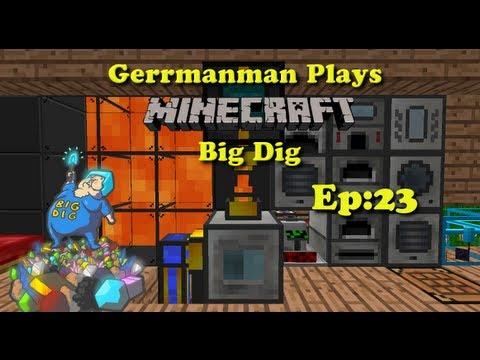 Minecraft Big Dig Ep:23 Gettin Da Power