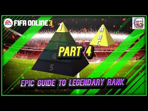 1v1 Legendary Rank Formation, Strategies, Tips and Tricks Part 4 - FIFA ONLINE 3 (ENGLISH)