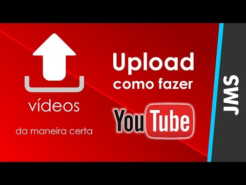 Como fazer Upload enviar Videos para o YouTube thumbnail