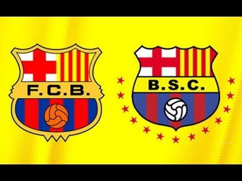 Barcelona Ecuador fc fc Barcelona de España Pelea
