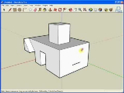 Aula 1 - Comandos Basicos Sketchup