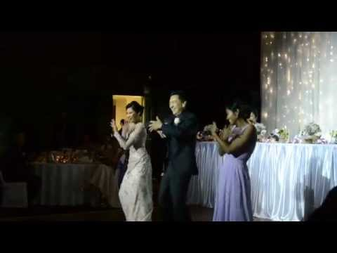 Father of the Bride dances to Beyonce Single Ladies
