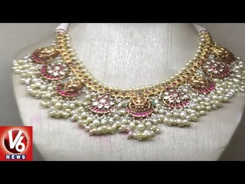 City Women Shows Interest On Handmade Jewellery Collections | Hyderabad | V6 News