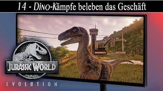 Jurassic World Evolution deutsch 🦖 #14 Dino-Kämpfe beleben das Geschäft | Gameplay deutsch german