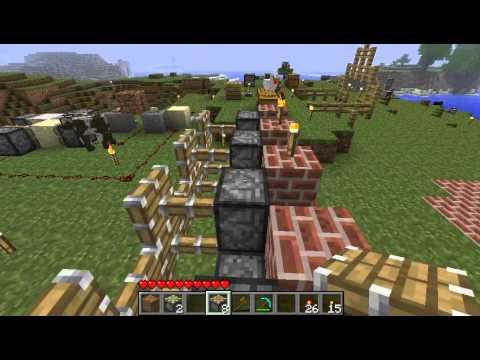 Pistons in Minecraft Beta 1.7