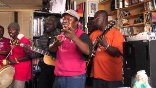 Sierra Leone's Refugee All Stars Video - Sierra Leone's Refugee All Stars: NPR Music Tiny Desk Concert: