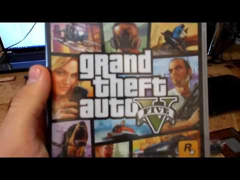 Unboxing Sony Playstation 3 and GTA 5
