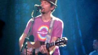 Jason Mraz - Details in the fabric, live Madrid 16/07/2009
