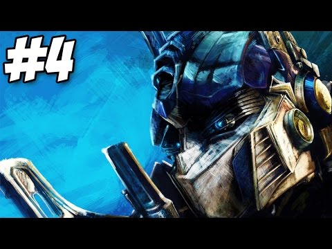 Transformers: The Game Autobots Walkthrough Part 4 Gameplay Let's Play (PS2/PS3/Xbox360/PC)