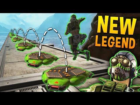 *NEW LEGEND* OCTANE MONTAGE - 200 IQ Tricks & Best Moments (Apex Legends)