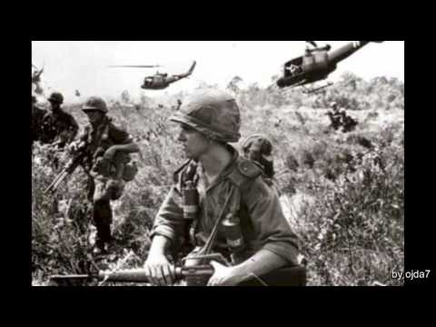 Jimi Hendrix - Hey Joe - Vietnam War Photos - HD