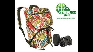 Stylish Camera Shoulder Bag and Backpack