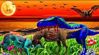 Á HISTÓRIA DO CARNOTAURO FEIOSO - PROTEGI Á BELA E ACABEI MORRENDO! Ark Survival Evolved Dinossauros