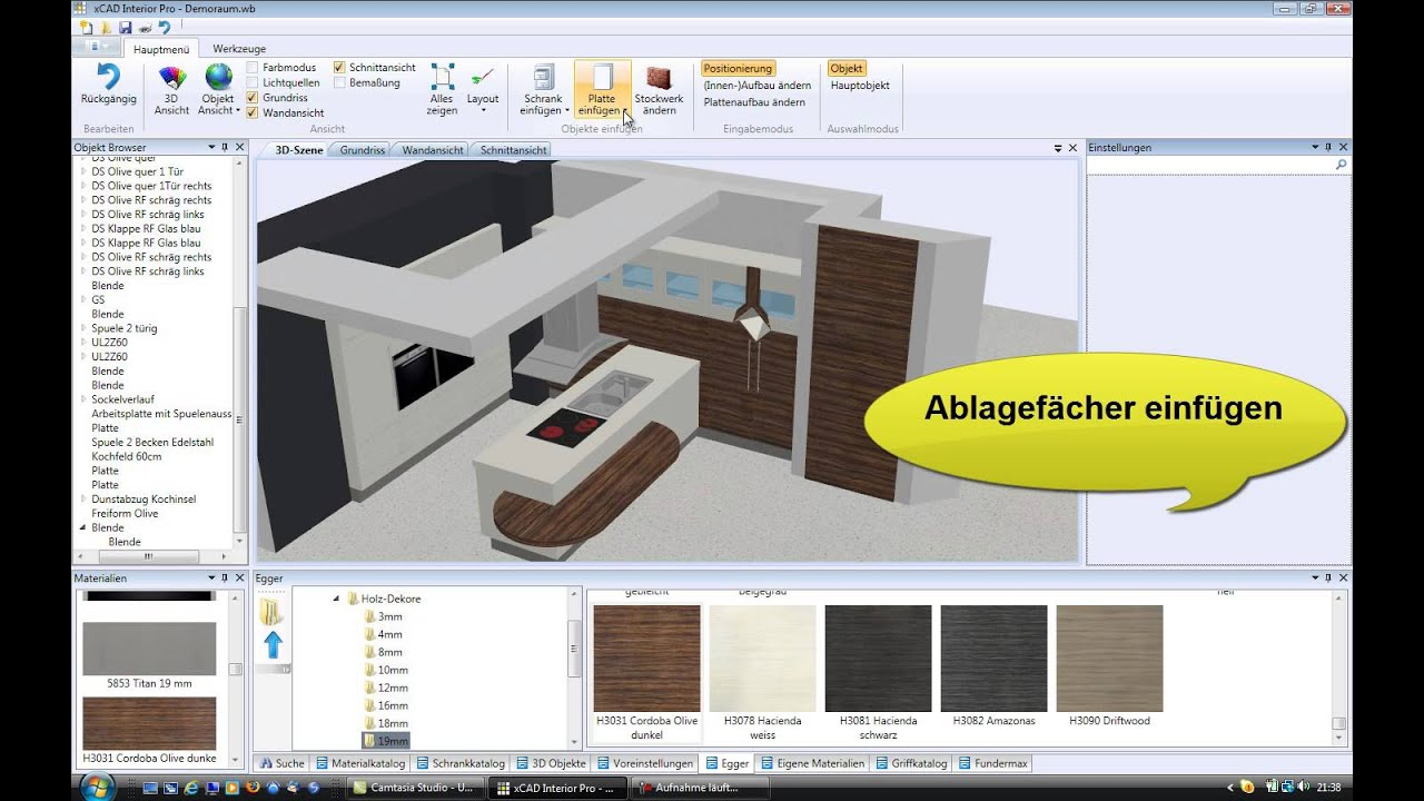 Neue cad software speziell entwickelt f r die for Innenarchitektur computerprogramm