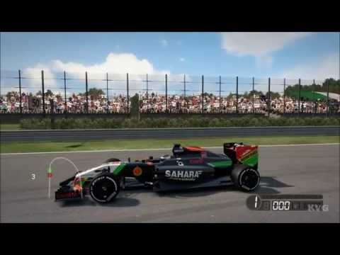 F1 2014 - Sahara Force India F1 Team | Force India VJM07 Gameplay (PC HD) [1080p]