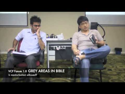 Vcf Forum 1.0 - Grey Areas In Bible - Is Masturbation Allowed? video