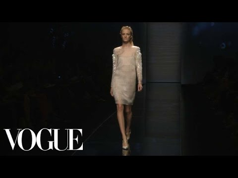 Alberta Ferretti Ready to Wear Spring 2013 Vogue Fashion Week Runway Show