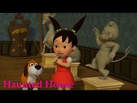 Английский язык для малышей - Мяу-Мяу - Haunted House (Дом с привидениями) - учим английские слова