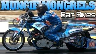 Muncie Mongrels bar bike Motorcycle Drag Racing video 2012