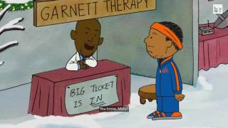 "Bleacher Report Parodies Charlie Brown with ""A Carmelo Anthony Christmas"""
