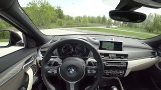 2018 BMW X2 xDrive28i - POV Test Drive (Binaural Audio)