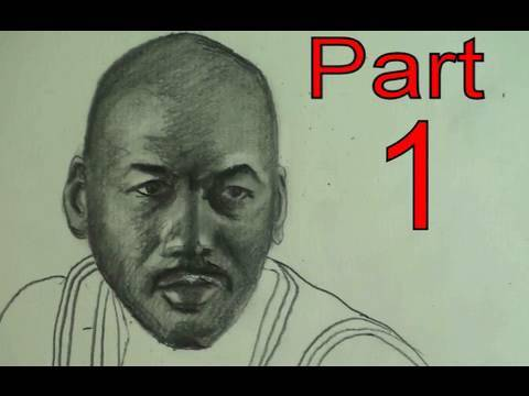 How to Draw Michael Jordan Step by Step Drawing- Pencil Video