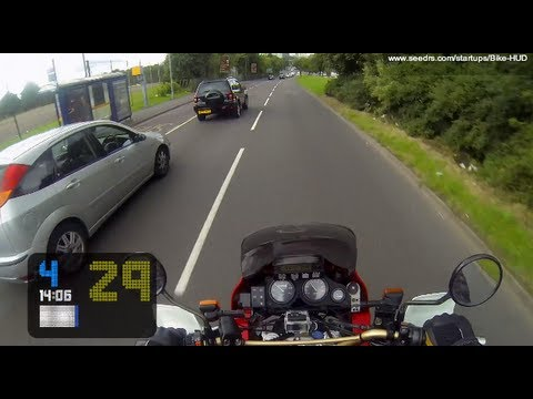 Bike Hud Motorcycle Heads Up Display Investor Video