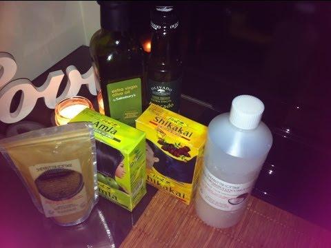 Make My Henna , Shikakai And Amla Hair Gloss - Ayruvedic | How To Make ...