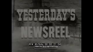 YESTERDAYS NEWSREEL 1930 TAMMANY HALL SCANDAL & SEN. JIMMY WALKER   RADIO   MONTICELLO 85764a