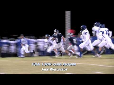 FRA Football Beats Harding Academy, 44-7, First Round of Playoffs