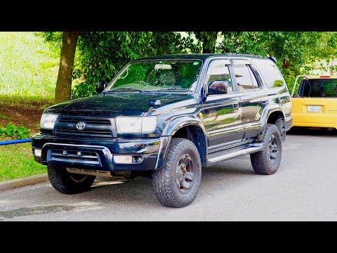 1998 Toyota Hilux Surf SSR-X 3400cc gasoline (Canada Import) Japan Auction Purchase Review