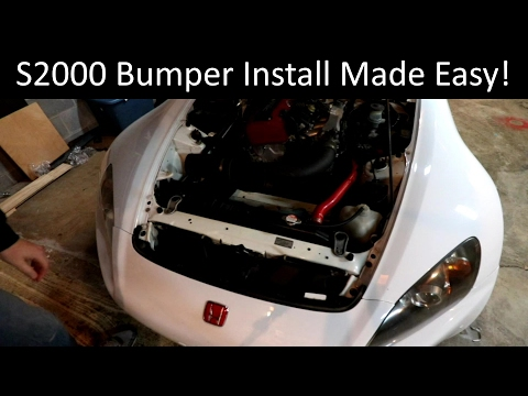 S2000 Bumper Removal Made Easy - Honda S2000 Project Build - Ep 10