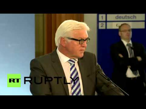 Germany: Steinmeier talks Iraq, Islamic State and Yezidi refugees