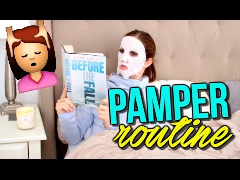 At-Home Pamper Routine - How I De-stress and Unwind | Courtney Lundquist