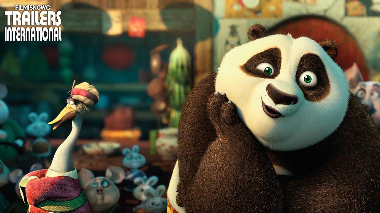 KUNG FU PANDA 3 - Novo Spot + Trailer Dublado [animação 2016] HD