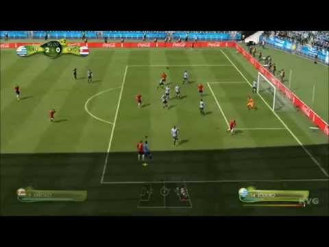 2014 FIFA World Cup Brazil - Uruguay vs Costa Rica Gameplay [HD]