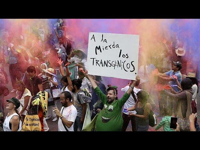 Mobilisation mondiale contre Monsanto