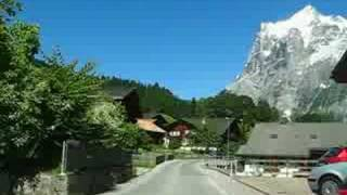 Switzerland 16 (Camera on board) Grindelwald (BE) Nature, Mountains and Chalets [HQ]