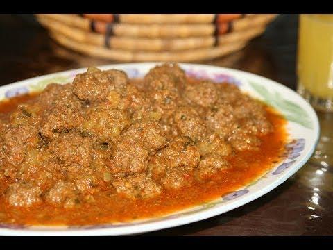 Recette boulettes de kefta viande hach e recettes - Recette de cuisine algerienne traditionnelle ...