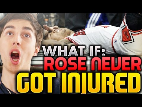 WHAT IF DERRICK ROSE NEVER GOT INJURED? NBA 2K16 MY LEAGUE